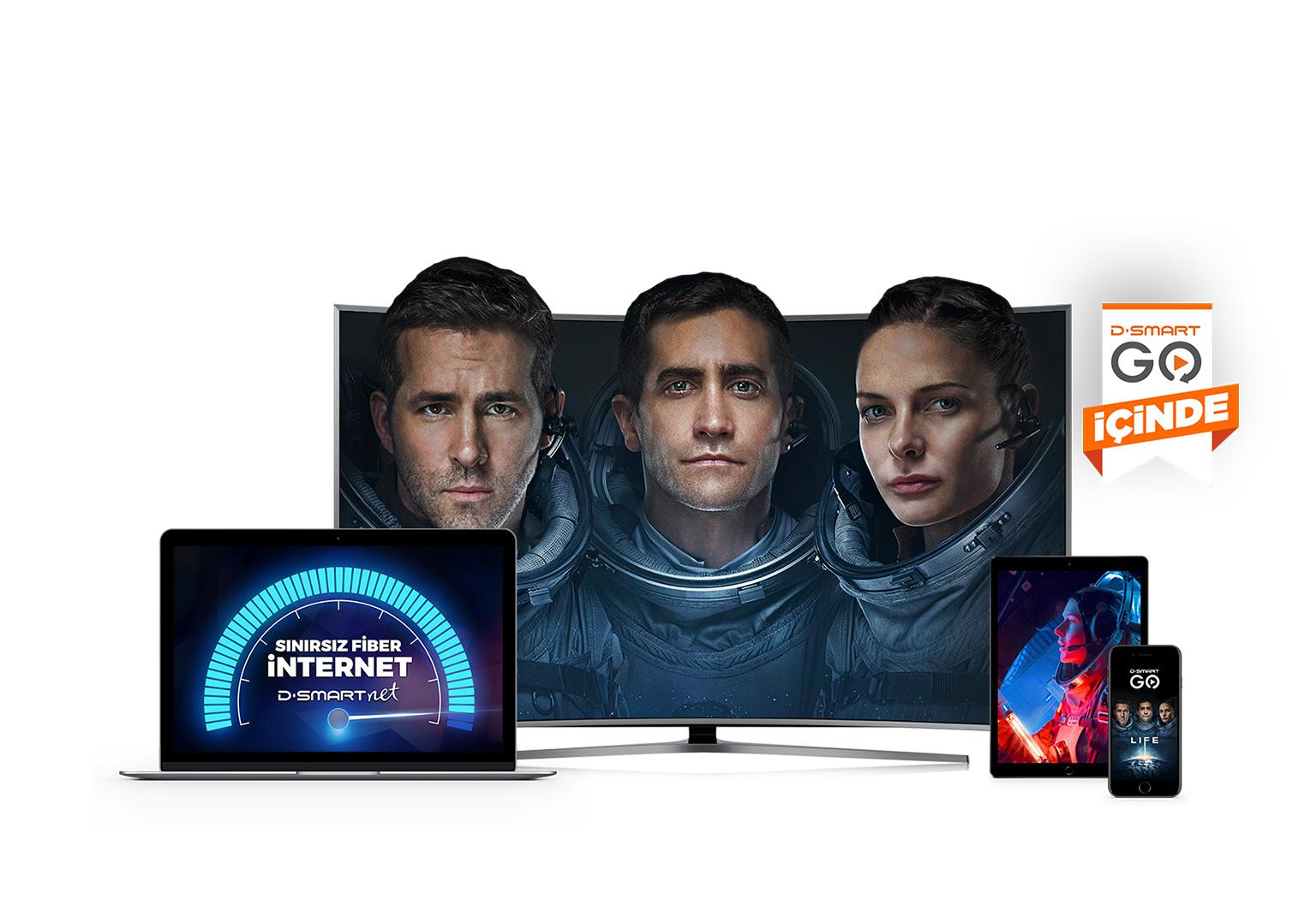 Tv + Limitsiz İnternet D-Smart